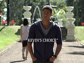 "Title Card for ""Kevin's Choice""."