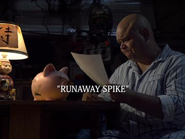 "Episode Title Card for ""Runaway Spike"""