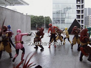"Title Card for ""Something Fishy""."