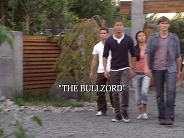 "Title Card for ""The Bullzord""."