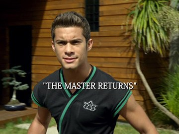 "Title Card for ""The Master Returns""."