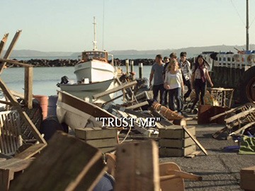 "Title Card for ""Trust Me""."