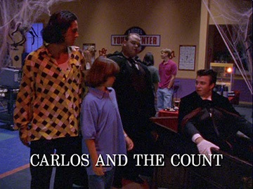 "Title Card for ""Carlos and the Count""."