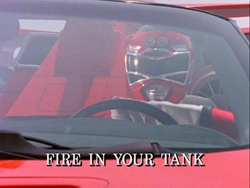"Title Card for ""Fire in Your Tank""."