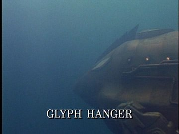 "Title Card for ""Glyph Hanger""."