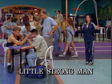 "Title Card for ""Little Strong Man""."