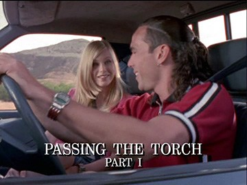 "Title Card for ""Passing the Torch Part I""."