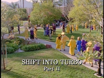 "Title Card for ""Shift into Turbo Part II""."