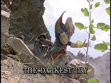 "Title Card for ""The Darkest Day""."