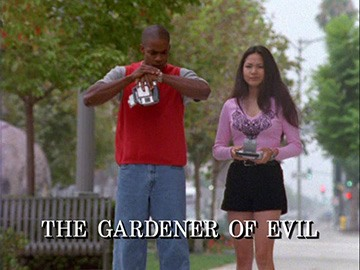 "Title Card for ""The Gardener of Evil""."