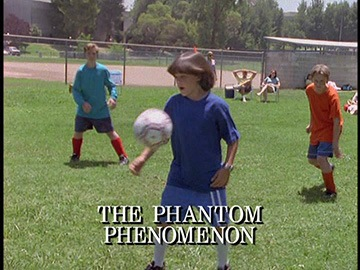 "Episode Title Card for ""The Phantom Phenomenon"""