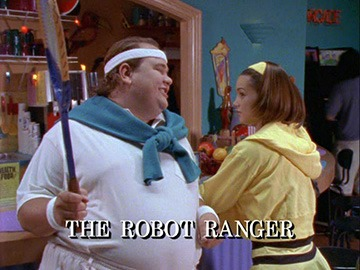 "Title Card for ""The Robot Ranger""."