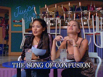 "Episode Title Card for ""The Song of Confusion""."