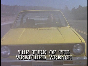 "Title Card for ""The Turn of the Wretched Wrench""."