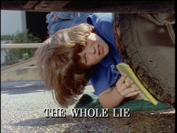 "Title Card for ""The Whole Lie""."