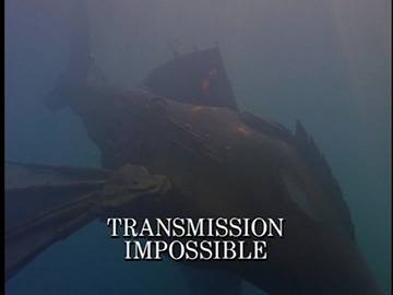 "Title Card for ""Transmission Impossible""."