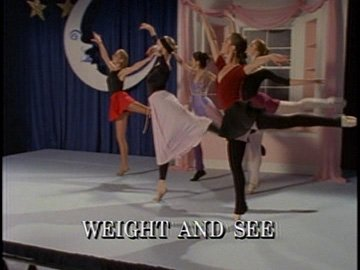 "Title Card for ""Weight and See""."
