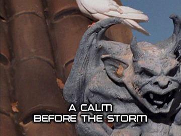 "Episode Title Card for ""A Calm Before the Storm"""