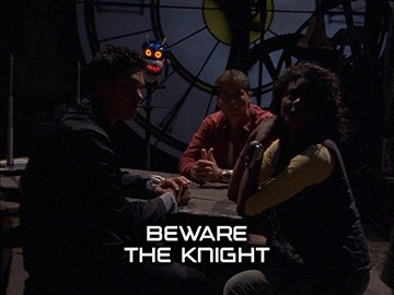 "Episode Title Card for ""Beware the Knight"""