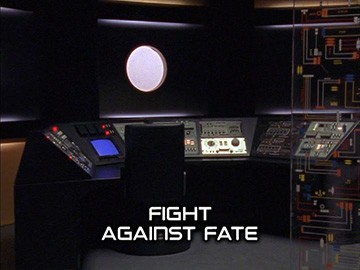 "Title Card for ""Fight Against Fate""."