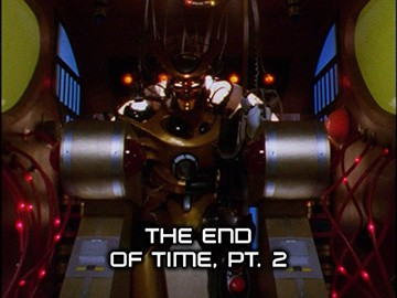 "Episode Title Card for ""The End of Time, Pt. 2"""