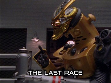 "Title Card for ""The Last Race""."