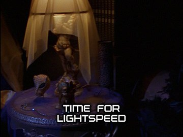 "Title Card for ""Time for Lightspeed""."