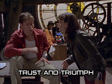 "Title Card for ""Trust and Triumph""."