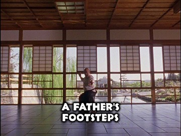 "Title Card for ""A Father's Footsteps""."