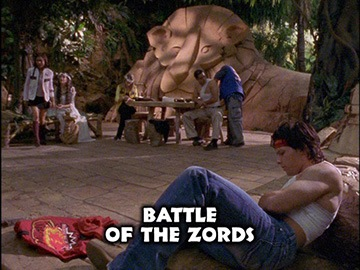 "Title Card for ""Battle of the Zords""."