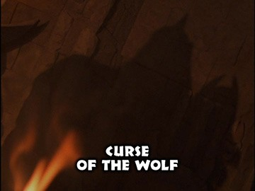 "Title Card for ""Curse of the Wolf""."
