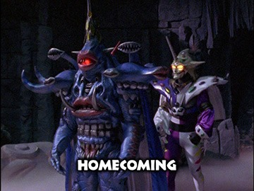 "Title Card for ""Homecoming""."