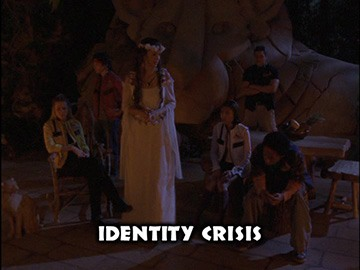 "Title Card for ""Identity Crisis""."