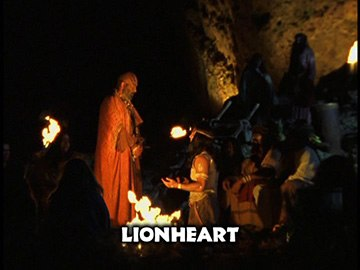 "Title Card for ""Lionheart""."
