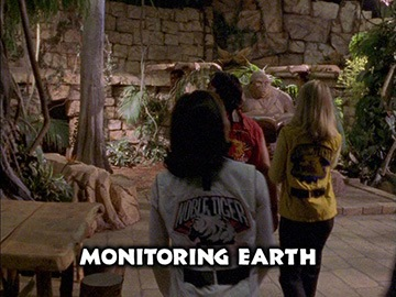"Title Card for ""Monitoring Earth""."