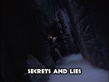 "Title Card for ""Secrets and Lies""."