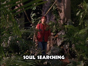 "Episode Title Card for ""Soul Searching""."