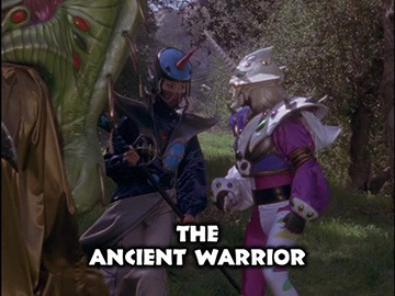 "Episode Title Card for ""The Ancient Warrior"""