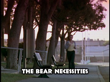 "Title Card for ""The Bear Necessities""."