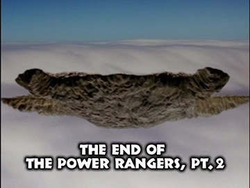 "Episode Title Card for ""The End of the Power Rangers, Pt. 2"""