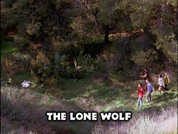 "Episode Title Card for ""The Lone Wolf"""