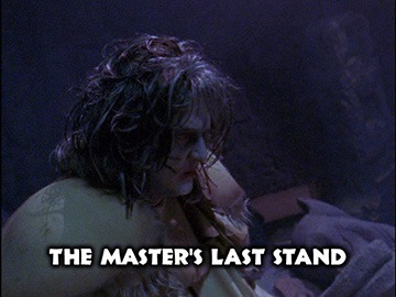 "Title Card for ""The Master's Last Stand""."