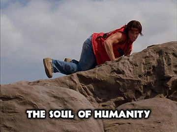 "Episode Title Card for ""The Soul of Humanity""."