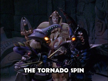 "Title Card for ""The Tornado Spin""."