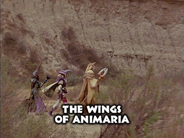 "Title Card for ""The Wings of Animaria""."