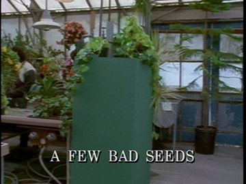 "Episode Title Card for ""A Few Bad Seeds"""