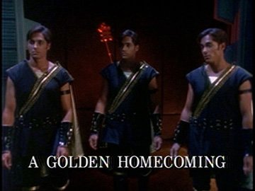 "Episode Title Card for ""A Golden Homecoming"""
