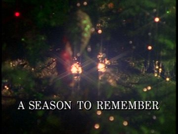 "Episode Title Card for ""A Season to Remember""."