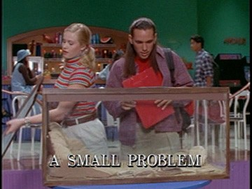 "Title Card for ""A Small Problem""."