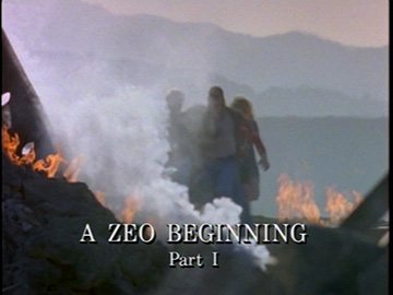 "Title Card for ""A Zeo Beginning Part I""."
